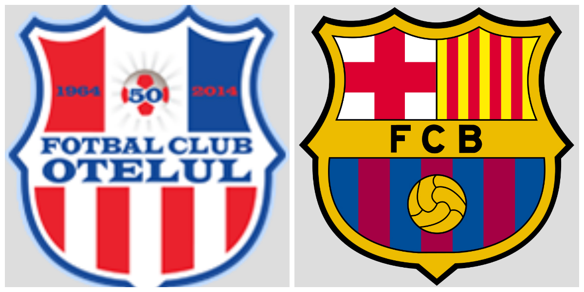 Barcelona have their badge stolen... but not for long!