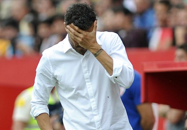 Enrique reacts to defeat