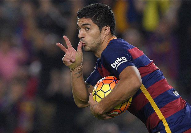 Luis Suarez comments after Eibar hat-trick
