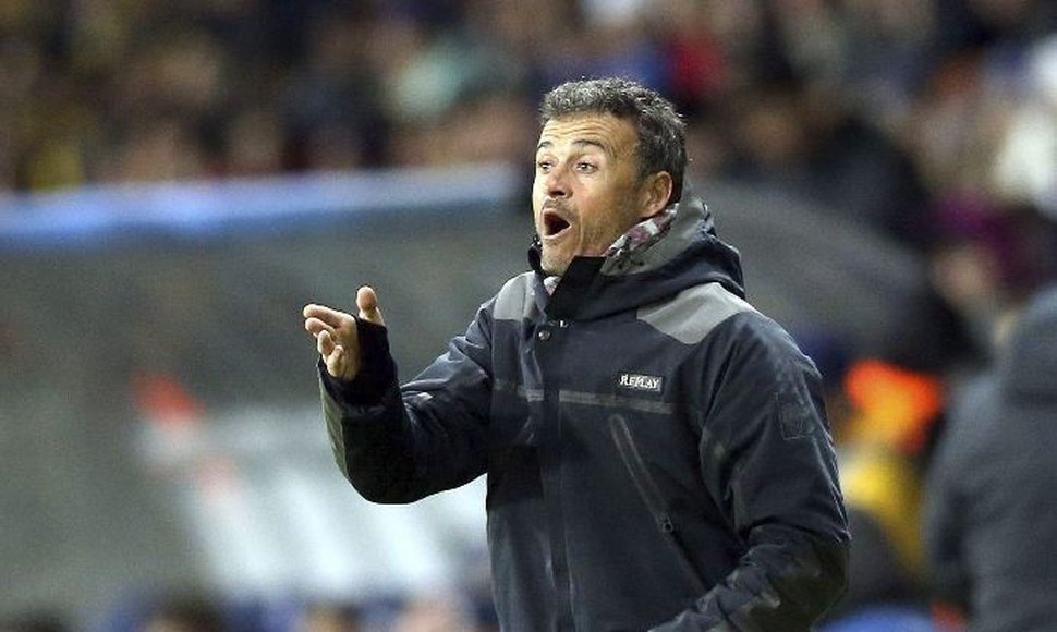 Luis Enrique delighted with clean sheet