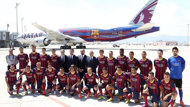 Barcelona fail to reach deal with Qatar Airways