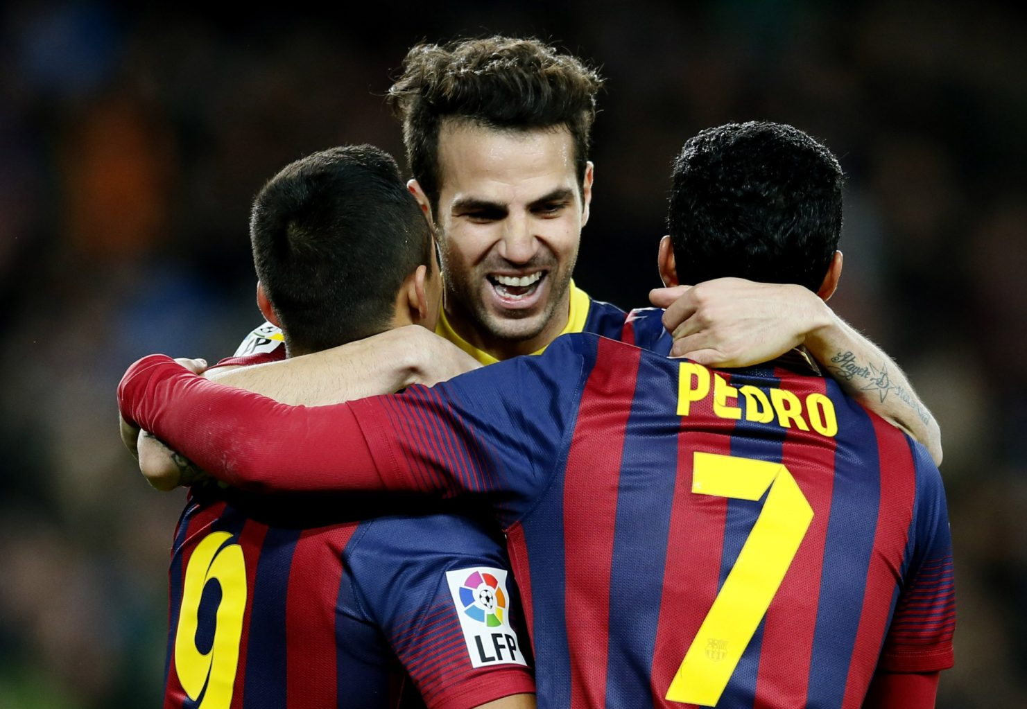 Winger happy to have left Barca