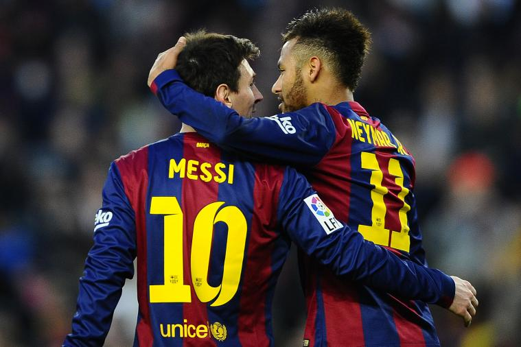Neymar wants to win for Messi