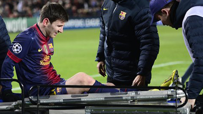 Lionel Messi injury recovery enters third stage on schedule