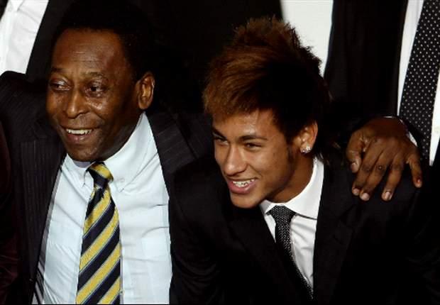 "Brazil legend Pele highlights ""defects"" in Neymar's game"