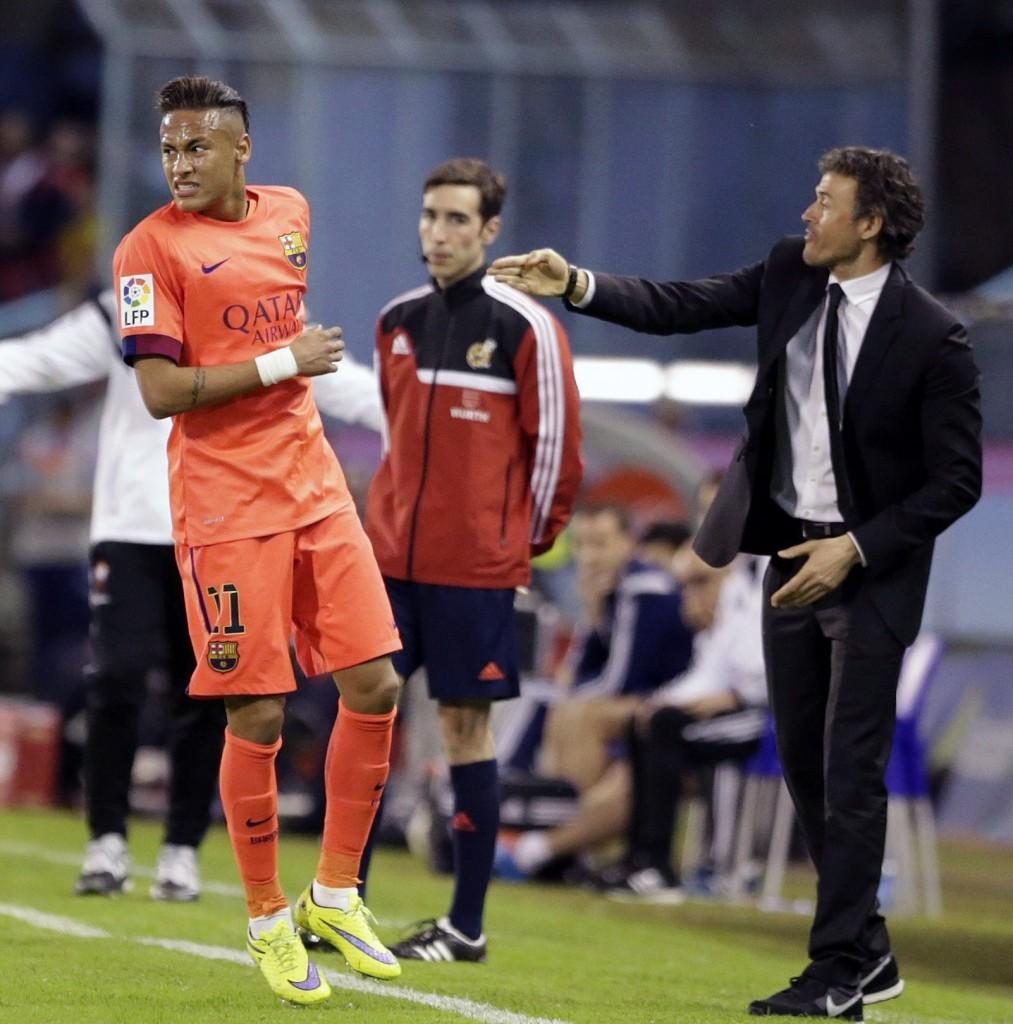 Luis Enrique: Neymar is a unique, special player