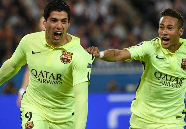 Suarez: I don't compete against Neymar