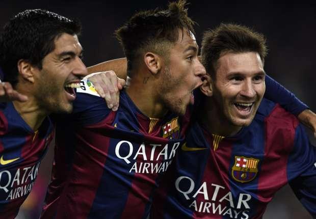 Neymar is always with connection between Leo & Suarez