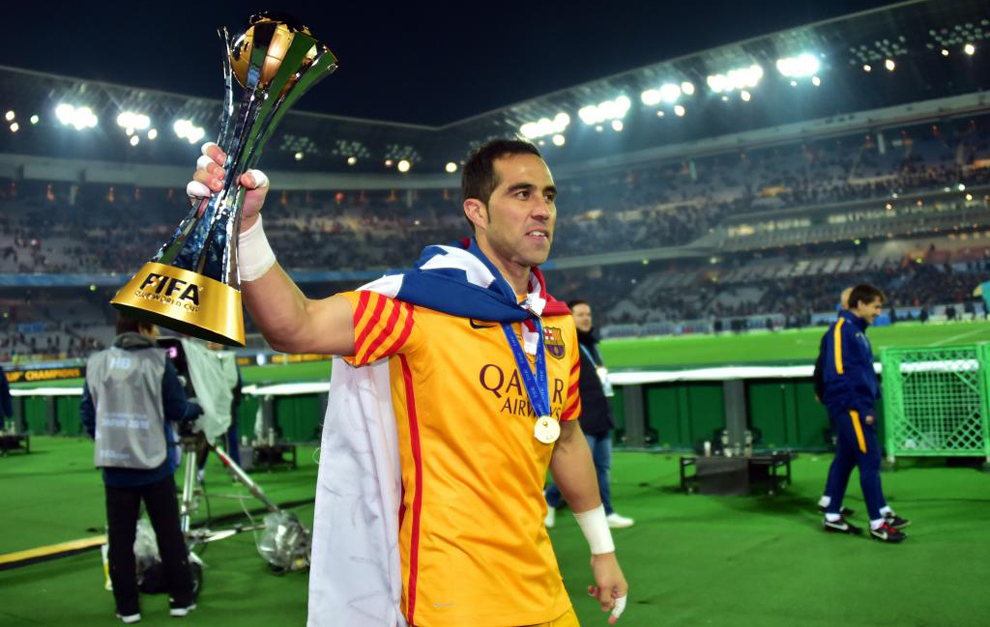 A golden year for Claudio Bravo