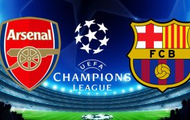 Barcelona draw Arsenal in the Champions League