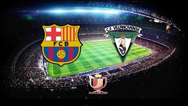 Match Post View: FC Barcelona vs Villanovense 6-1