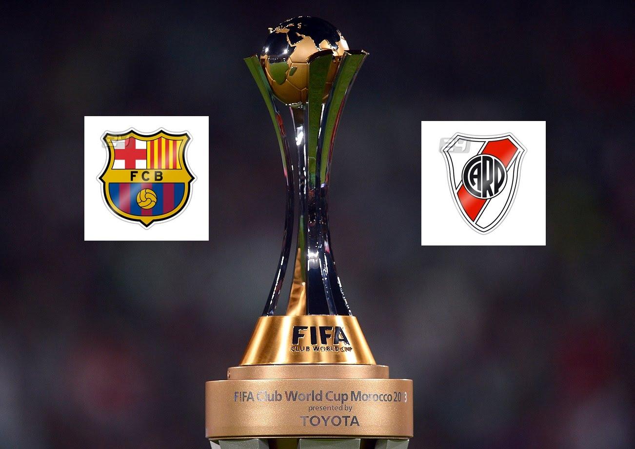 River Plate vs FC Barcelona timing