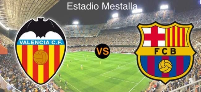 All Barcelona goals in Mestalla