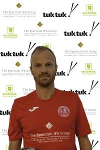 FCB defender Christian Thomsen