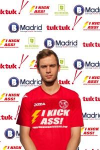 FCB Midfielder Calum Cant