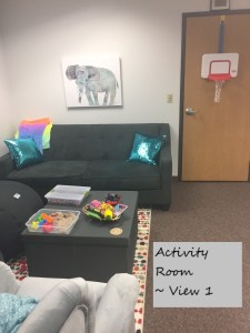 Activity Room at Full Circle Counseling In Dallas, TX