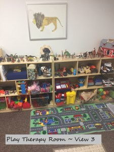 Play Therapy Room View at Full Circle Counseling in Dallas, TX