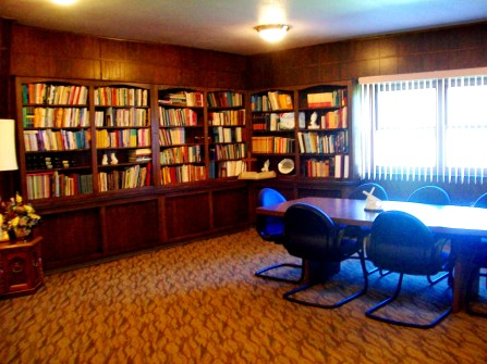 church library and conference room