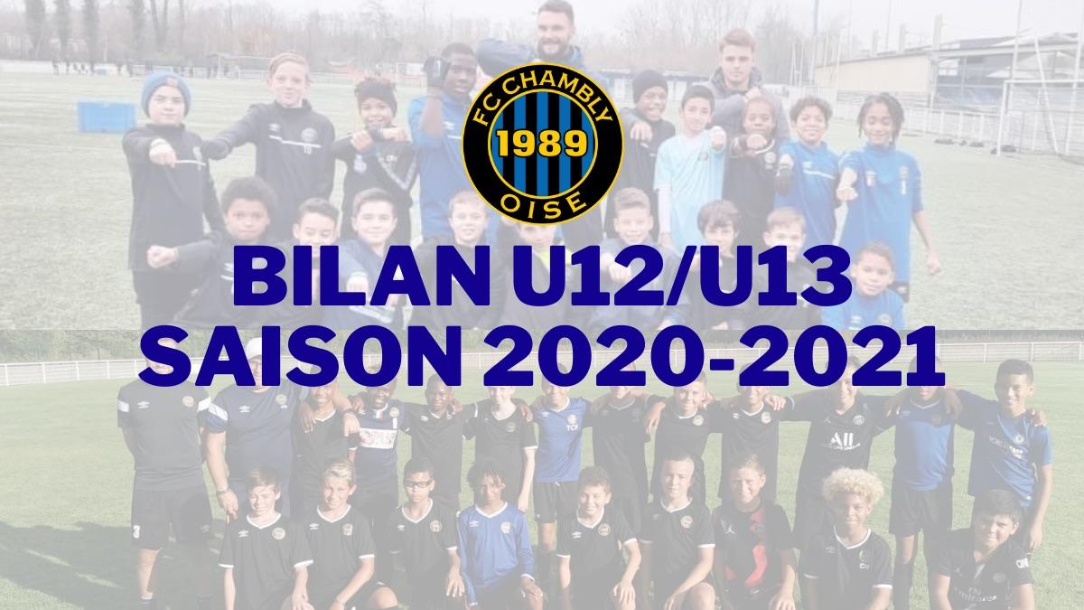 Saison 2020-2021 : Bilan U12/U13