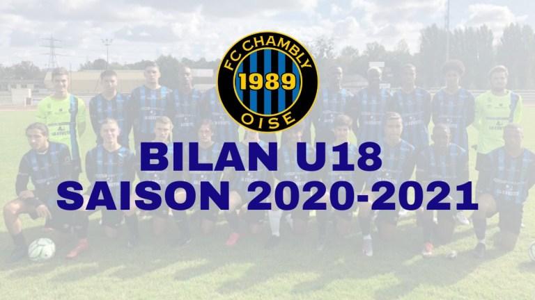 Saison 2020-2021 : Bilan U18 !