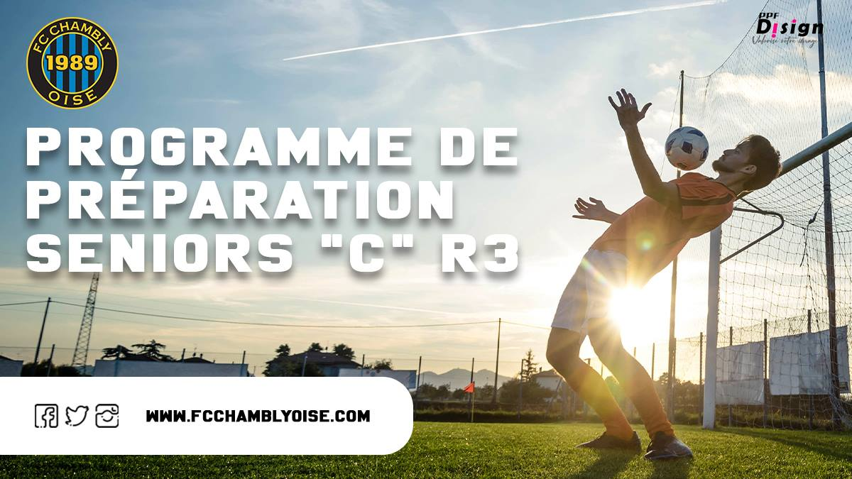 Séniors C ( R3 ) / Préparation 2021-2022