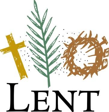 Lent, cross, palm, crown