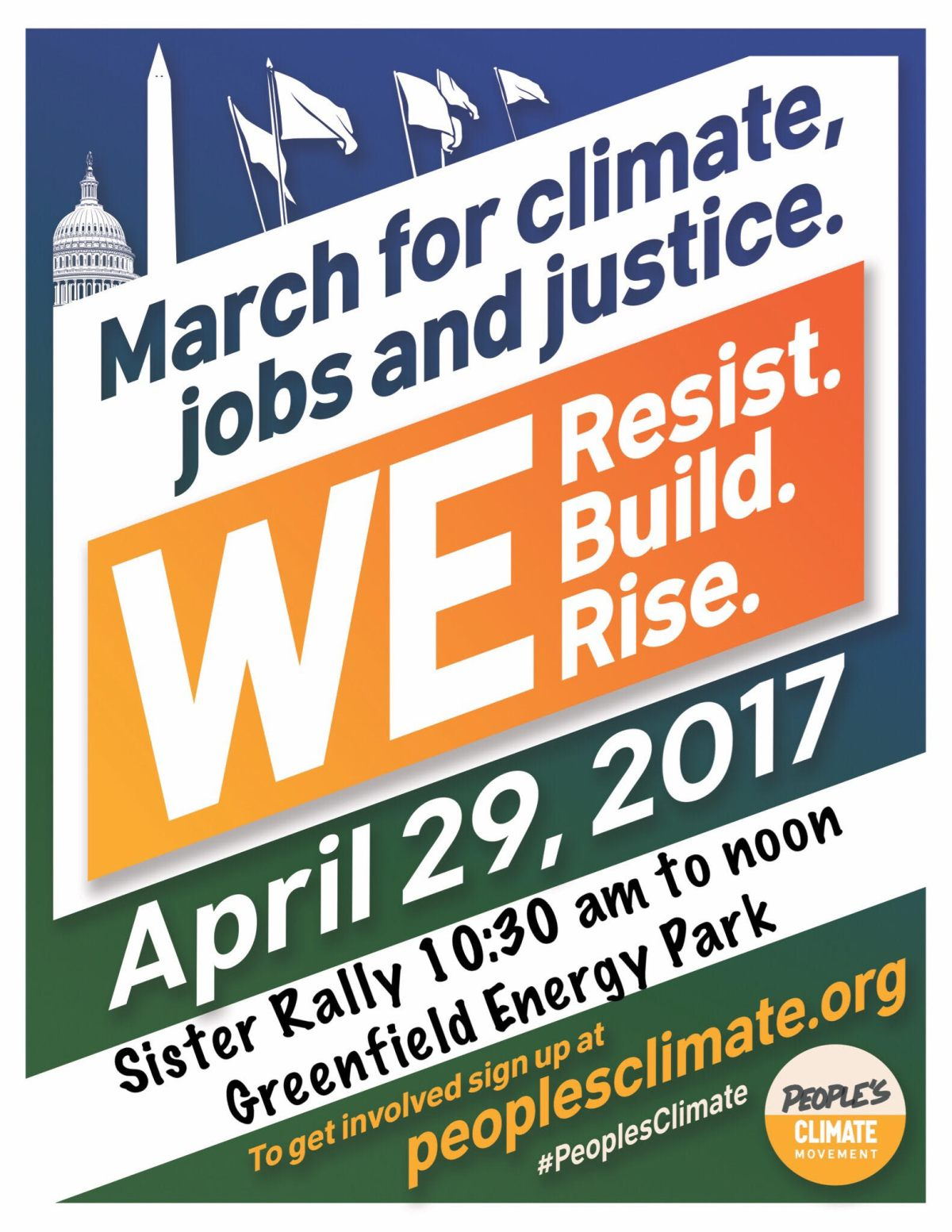 Rally for People's Climate Mobilization