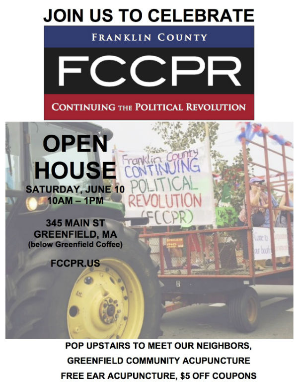FCCPR Open House, Sat., June 10, 10 a.m.-1 p.m.