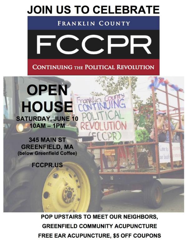 FCCPR Open House, Sat., June 10, 10 a.m.-1 p.m.