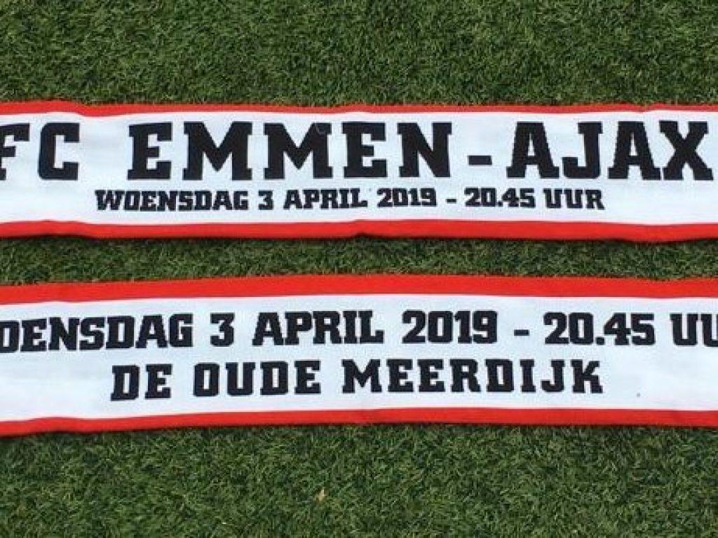 FC Emmen - Ajax sjaal
