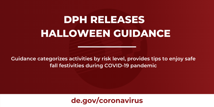 DPH Releases Halloween Guidance Banner