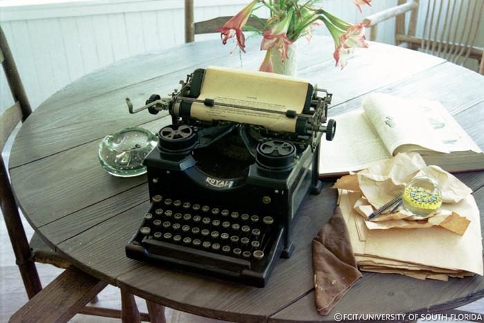 Marjorie Rawlings' Royal Typewriter, FCIT