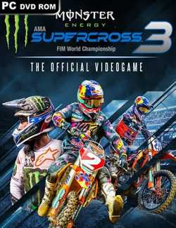 Monster Energy Supercross 3 Crack PC Download Torrent CPY