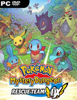 Pokémon Mystery Dungeon Rescue Team DX Crack PC Download Torrent CPY