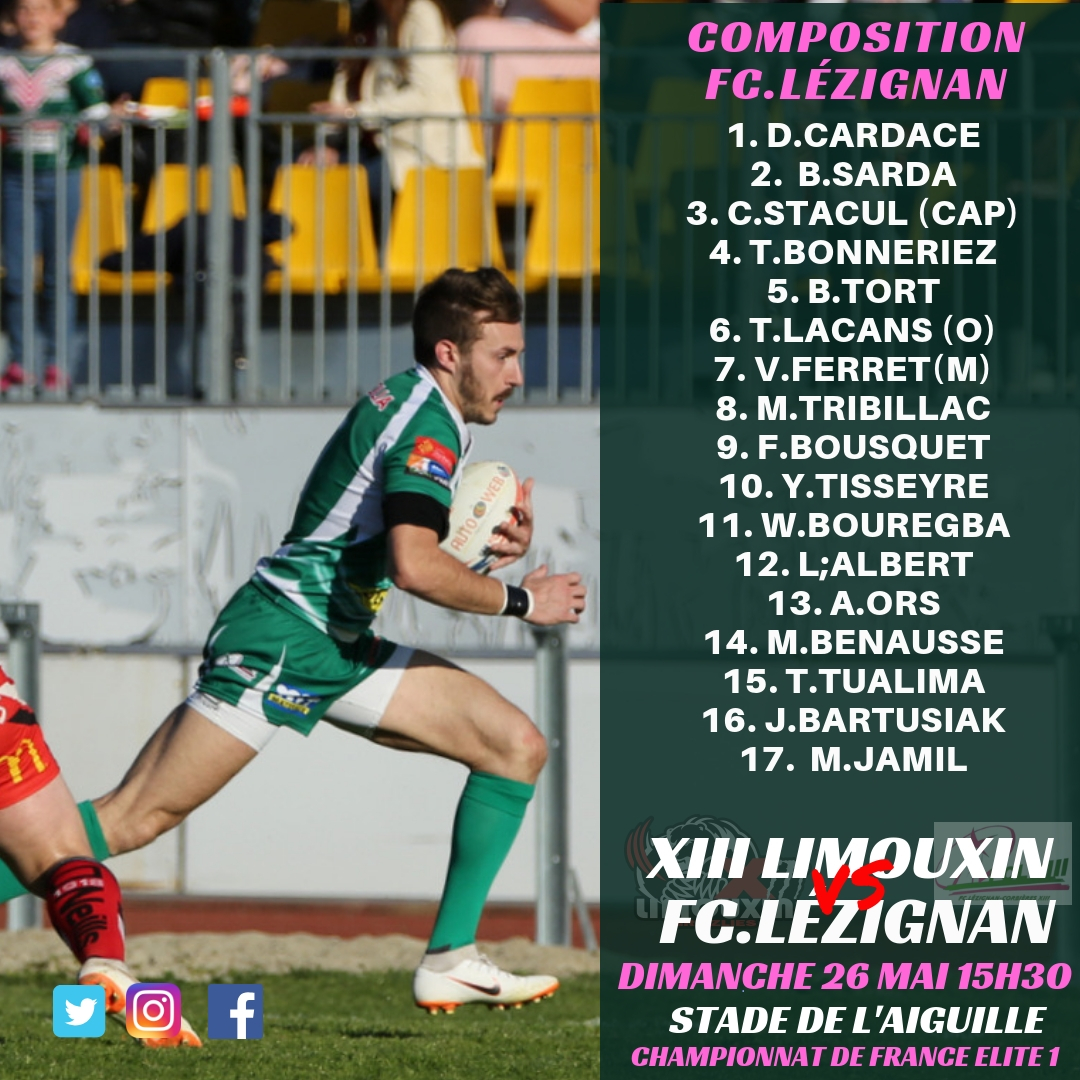 fcl xiii vs limoux