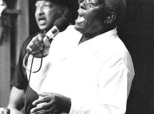 Sonny Warner at Falls Church City Park in July 2003 at what was one of his last public performances. He passed away April 13, 2007. (Photo: Ronald Weinstock)