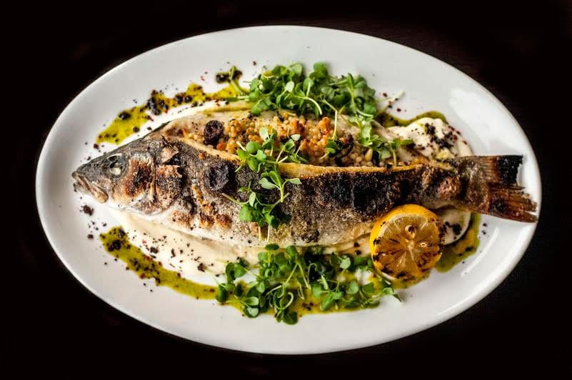 TRIO GRILL's branzino is one of two a la carte options in addition to a brunch buffet available at the Merrifield restaurant this Sunday. (Photo: TRIO Grill)