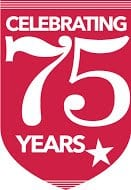 Congressional Camp 75 years logo