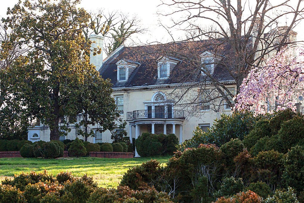 THE FINAL PARCEL of George Washington's Mount Vernon was sold by Falls Church real estate agent Theresa Wiford. (Courtesy photo)