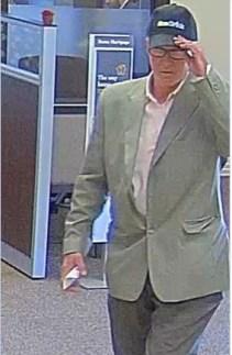 041817 Wells Fargo Bank Robbery Suspect 1