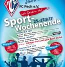 60 Jahre FC Pech – Festprogramm
