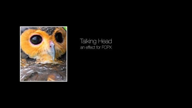 Talking Head effect for Final Cut Pro X