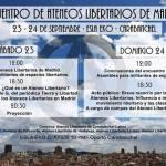 Encuentro Ateneos Libertarios MAdrid