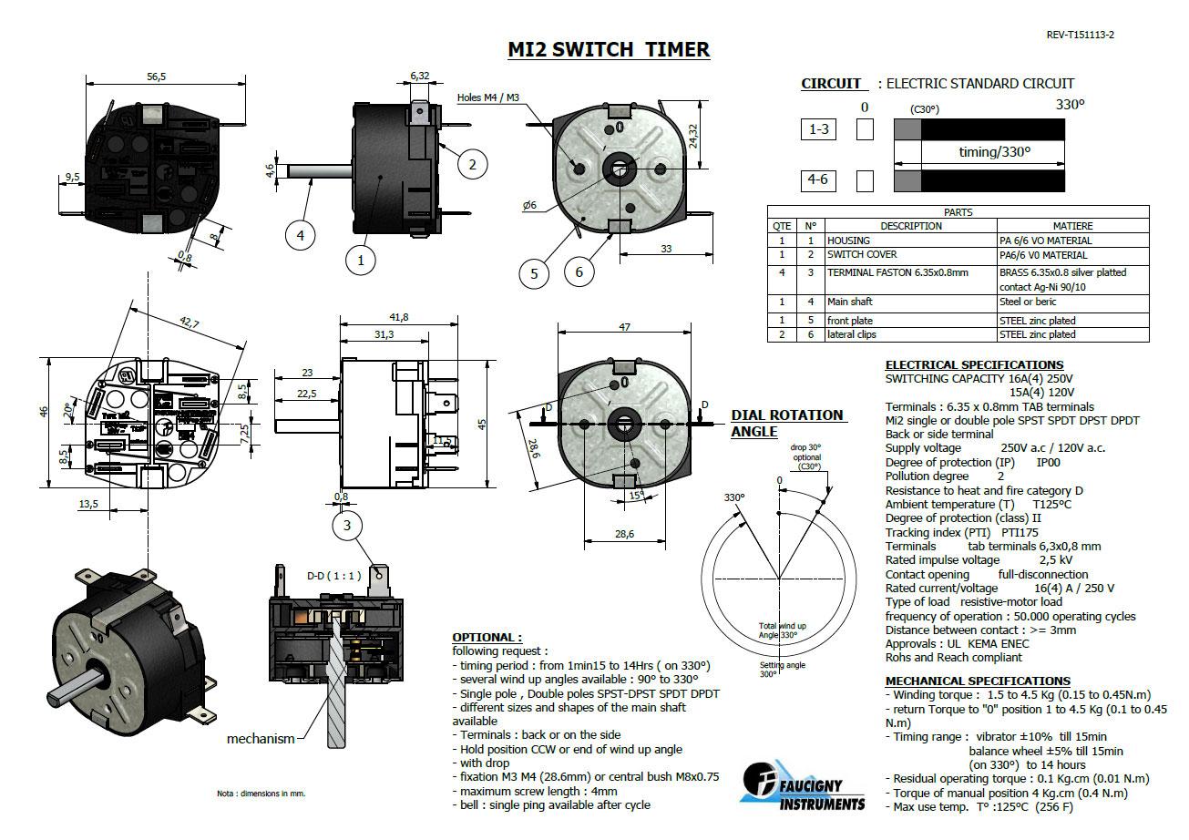Mi2 Switch Timer