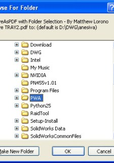 SaveAsPDF with Folder Selection