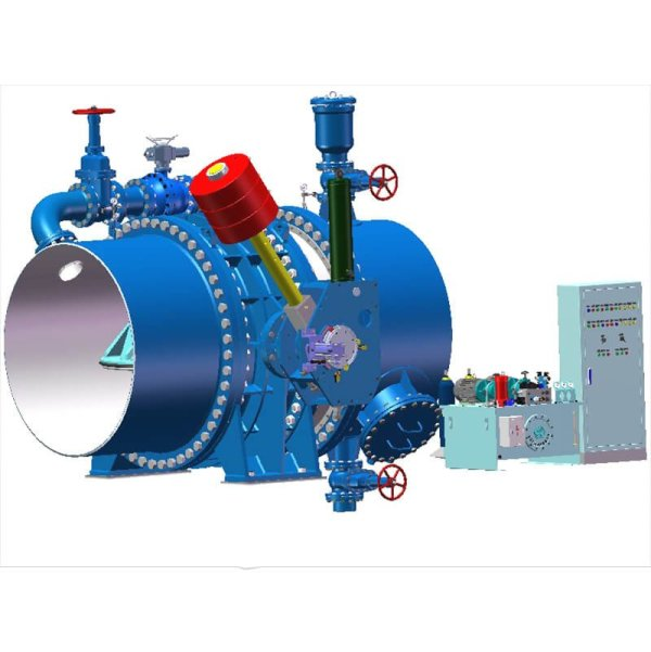 Effect drawing of complete set of equipment for water power inlet valve