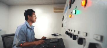 Industrial valve pressure testing equipment