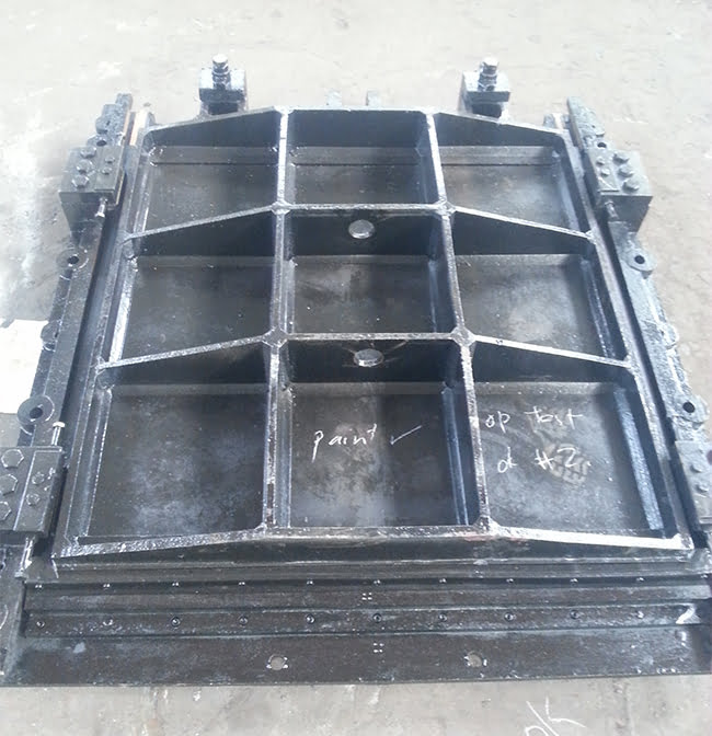 Cast iron penstock factory