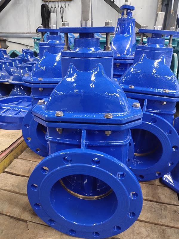 Hard seal gate valve