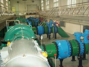 Butterfly valve for water plant